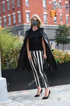Editorial photo of Street Style, Spring Summer 2021, New York Fashion Week, USA - 16 Sep 2020