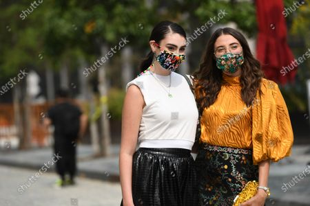 Editorial picture of Street Style, Spring Summer 2021, New York Fashion Week, USA - 16 Sep 2020