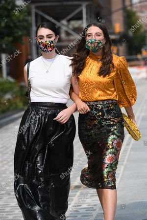 Editorial image of Street Style, Spring Summer 2021, New York Fashion Week, USA - 16 Sep 2020
