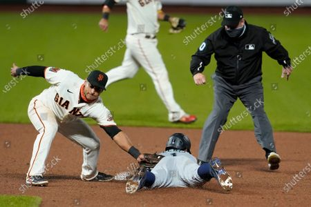 Editorial picture of Giants Mariners Baseball, San Francisco, United States - 16 Sep 2020