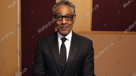 Giancarlo Esposito presents the Emmy for Outstanding Single-Camera Picture Editing For A Drama Series during the third night of the 2020 Creative Arts Emmy Awards, streamed live on Emmys.com on