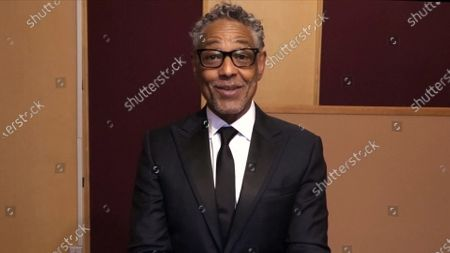 Giancarlo Esposito presents the Emmy for Outstanding Multi-Camera Picture Editing For A Comedy Series during the third night of the 2020 Creative Arts Emmy Awards, streamed live on Emmys.com on