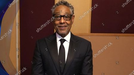 Giancarlo Esposito presents the Emmy for Outstanding Single-Camera Picture Editing For A Limited Series Or Movie during the third night of the 2020 Creative Arts Emmy Awards, streamed live on Emmys.com on