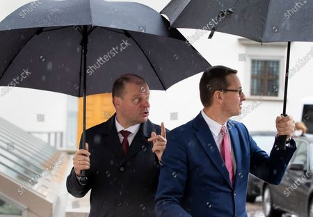 Editorial picture of Poland, Vilnius, Lithuania - 17 Sep 2020