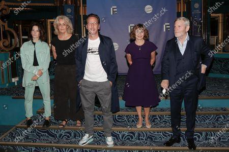 Aloise Sauvage, Dominique Valadie, Reda Kateb, Ariane Ascaride and Tcheky Karyo