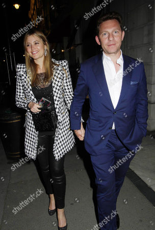 Stock Image of Holly Valance and Nick Candy at Oswald's