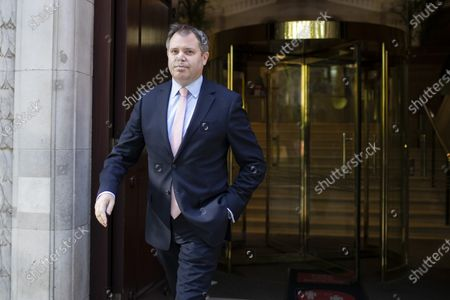 Minister for Health Edward Argar departs television studios near Parliament after appearing on Kay Burley at Breakfast. Later today the Government will announce new restrictions for the North East of England following a spike in Coronavirus cases.