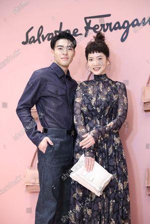 Editorial photo of Joanne Tseng promotes for Italy fashion brand Salvatore Ferragamo in Taipei, Taiwan, China - 16 Sep 2020
