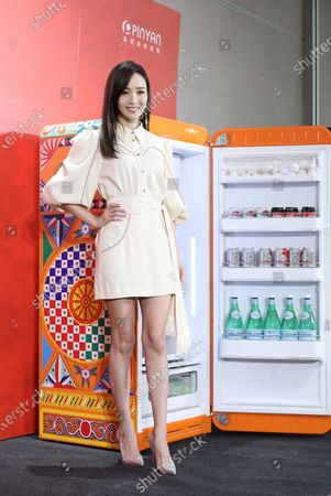 Editorial picture of Patty Hou promotes for Smeg and Dolce&Gabbana jointly-designed home appliances in Taipei, Taiwan, China - 16 Sep 2020