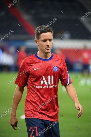 Ander Herrera before the first league match between PSG and Metz at the Parc des Princes on wednesday september 16, 2020. Paris. France