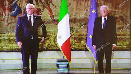President Mattarella meets the Federal President of Germany, Royal Palace, Milan