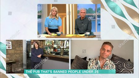 Phillip Schofield, Holly Willoughby, Maggie Holmes, Guest