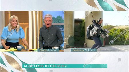 Toimituksellinen piirros aiheesta 'This Morning' TV Show, London, UK - 17 Sep 2020