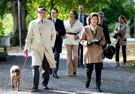 Swedish Royals visit to Djurgarden Royal Park, Stockholm