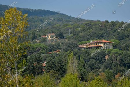 Il Palagio - singer Sting Gordon Summer Villa - Winery and Tuscany Villa - Figline Incisa Valdarno - Exterior view, winery, wine, vineyards