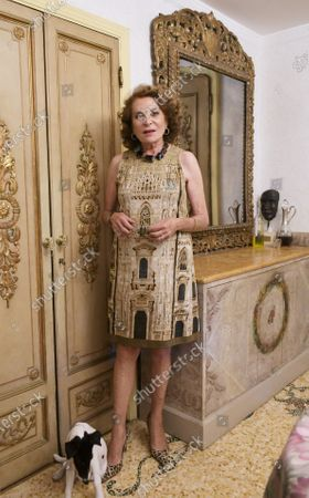 Editorial picture of Raffaella and Gigliola Curiel present the book 'Gigliola Curiel, A Life in Fashion', Milan, Italy - 17 Sep 2020