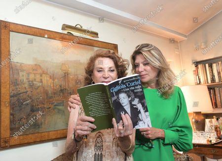 Editorial photo of Raffaella and Gigliola Curiel present the book 'Gigliola Curiel, A Life in Fashion', Milan, Italy - 17 Sep 2020