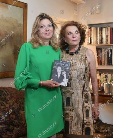 Editorial image of Raffaella and Gigliola Curiel present the book 'Gigliola Curiel, A Life in Fashion', Milan, Italy - 17 Sep 2020