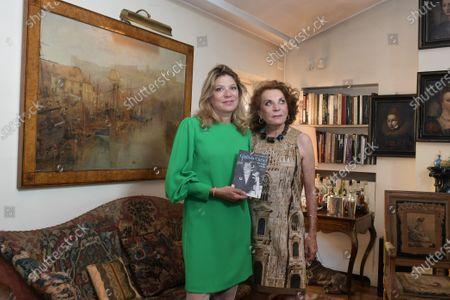 Stock Picture of Raffaella and Gigliola Curiel
