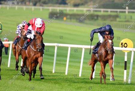 NAAS 17-September-2020. SENSE OF STYLE and Declan McDonogh (left) win for owner Mrs B Sangster and trainer Joseph O'Brien.