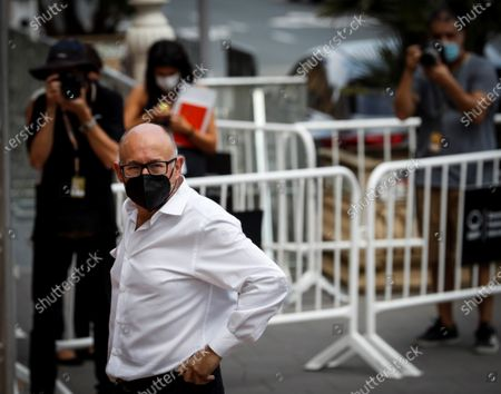 Film Festival director Jose Luis Rebordinos at his arrival to Maria Cristina Hotel on the ocassion of the International Film Festival of San Sebastian, Basque Country, Spain on 17 September 2020. The festival runs from 18 to 26 September.