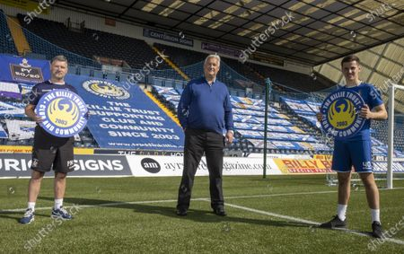 Editorial photo of Kilmarnock fc, press conference, Rugby park, kilmarnock, Scotland / UK - 17 Sep 2020