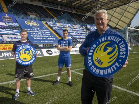 Editorial image of Kilmarnock fc, press conference, Rugby park, kilmarnock, Scotland / UK - 17 Sep 2020