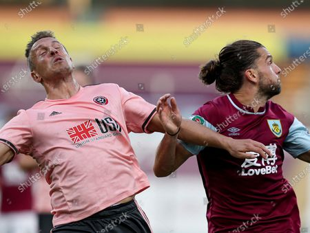 Editorial photo of Burnley v Sheffield United, EFL Carabao Cup 2nd Round, Football, Turf Moor, Burnley, UK - 17 Sep 2020