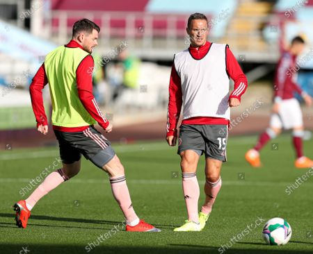 Stock Photo of Phil Jagielka of Sheffield United during the warm up