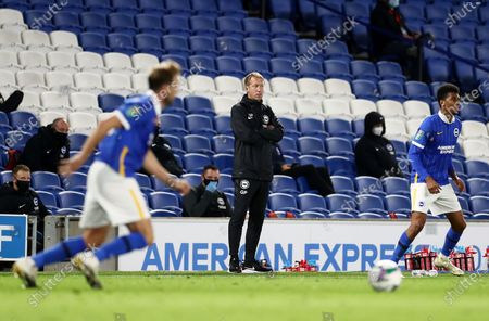 Brighton & Hove Albion Manager Graham Potter.