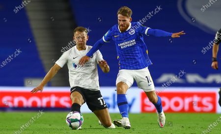 Editorial photo of Brighton & Hove Albion v Portsmouth, EFL Carabao Cup 2nd Round, Football, American Express Community Stadium, Brighton, UK - 17 Sep 2020