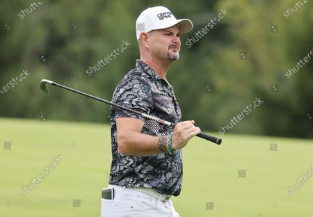 Rory Sabbatini of Slovakia on the fourteenth hole during the first round of the 2020 US Open at Winged Foot Golf Club in Mamaroneck, New York, USA, 17 September 2020. The 2020 US Open will be played from 17 September through 20 September in front of no fans due to the ongoing coronovirus pandemic.