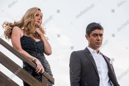 Euridice Axen and Riccardo Scamarcio