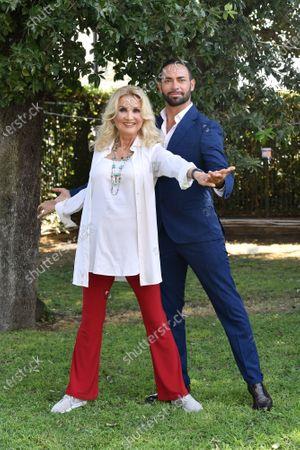 Stock Picture of Barbara Bouchet, Stefano Oradei