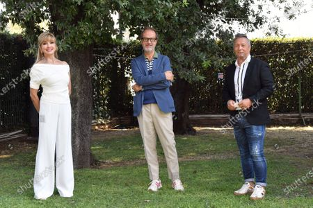 Editorial image of 'Dancing with the stars' TV show photocall, Rome, Italy - 17 Sep 2020