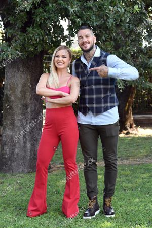 Editorial photo of 'Dancing with the stars' TV show photocall, Rome, Italy - 17 Sep 2020