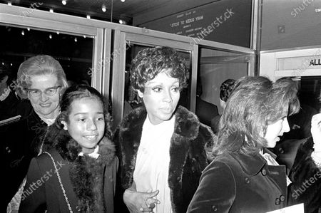 Diahann Carroll with daughter Suzanne