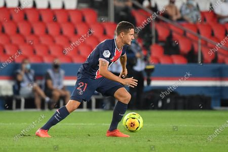 Ander Herrera during the first league match between PSG and Metz at the Parc des Princes