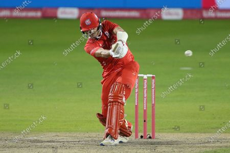 Lancashire Lightnings Rob Jones during the Vitality T20 Blast North Group match between Lancashire County Cricket Club and Yorkshire County Cricket Club at the Emirates, Old Trafford, Manchester