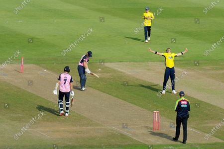 Editorial picture of Hampshire v Middlesex, Vitality Blast, T20 Cricket, The Ageas Bowl, Southampton, UK - 20 Sep 2020