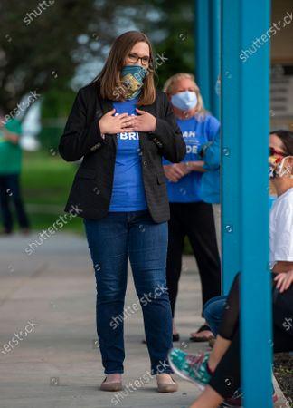 Editorial picture of Sarah McBride, Claymont, United States - 15 Sep 2020
