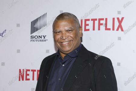 """Stock Picture of Reginald Hudlin attends the 11th Annual AAFCA Awards at the Taglyan Complex in Los Angeles. The Emmy Awards, the first big Hollywood ceremony to attempt a live -- but socially distanced -- broadcast amid the pandemic, will be held on Sunday, Sept. 20, and producers are promising a live TV experience with 100 cameras in the homes of nominees, and all the chaos that could entail. There are custom Emmy PJs being made, while some may have the courage to wear what co- executive producer Hudlin called the """"freakiest, funkiest"""" outfit in their closet or decide on the comfort of athleisure wear"""