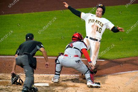 Editorial photo of Cardinals Pirates Baseball, Pittsburgh, United States - 17 Sep 2020