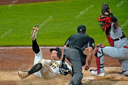 Editorial image of Cardinals Pirates Baseball, Pittsburgh, United States - 17 Sep 2020