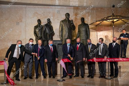 Editorial photo of The dedication ceremony for the Dwight D. Eisenhower Memorial, Washington Dc, USA - 17 Sep 2020