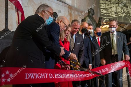Dwight D. Eisenhower Memorial dedication ceremony, Washington DC
