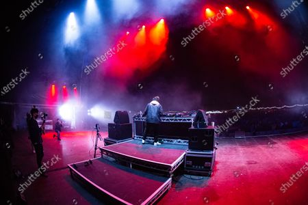 Stock Photo of Saul Milton - Chase and Status