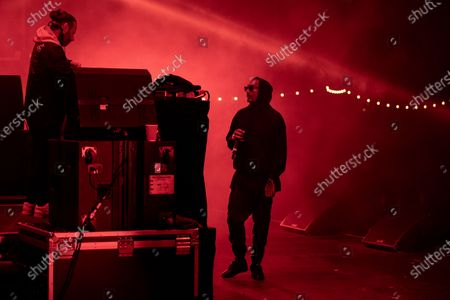 Editorial photo of Chase and Status in concert, Virgin Money Unity Arena, Newcastle, UK - 17 Sep 2020