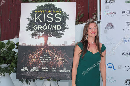 Editorial image of 'Kiss The Ground' drive-in film premiere, Los Angeles, USA - 17 Sep 2020