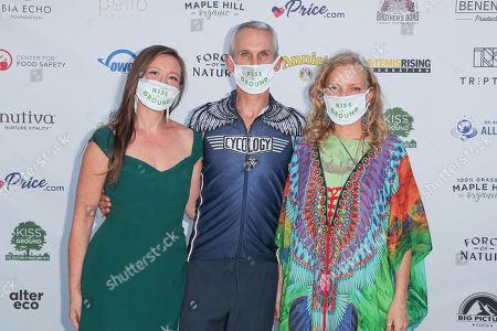 Rebecca Harrell Tickell, Mark Sims and Simone Schultz